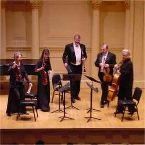 Clarinet and String Quartet